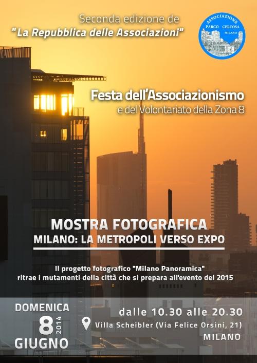 Mostra fotografica - Milano la metropoli verso Expo