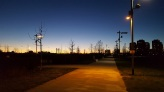 22 - tramonto sul Parco Certosa