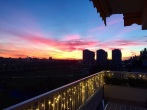 13 - tramonto su parco certosa
