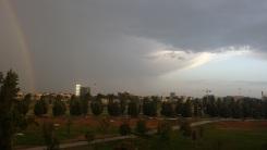 19 - contrasto di luce e colori sul parco Certosa