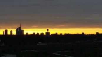 7 - tramonto dal Parco Certosa